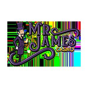 Mr. James Casino logo