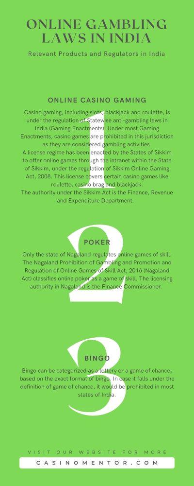 online gambling laws in India