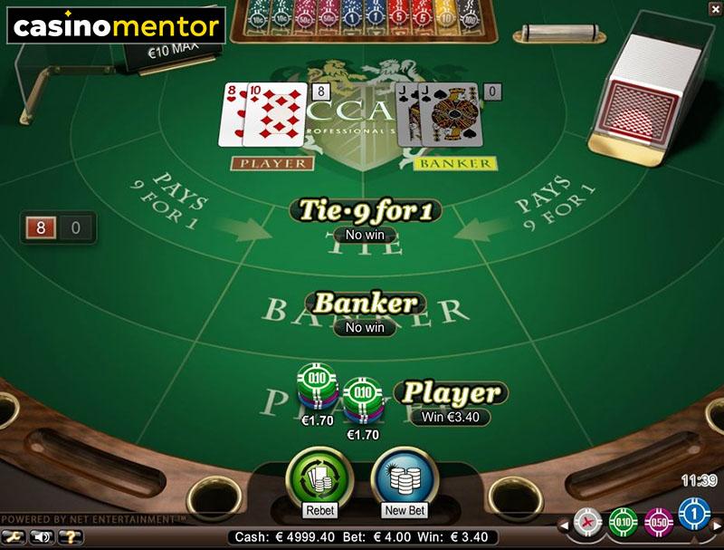 Low Limit Baccarat Vegas