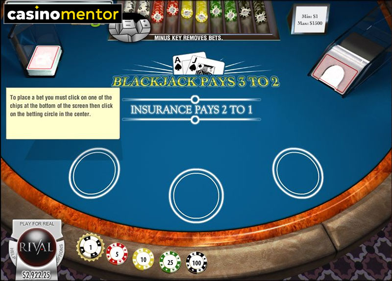 Enjoy Rival Blackjack with No Download Required