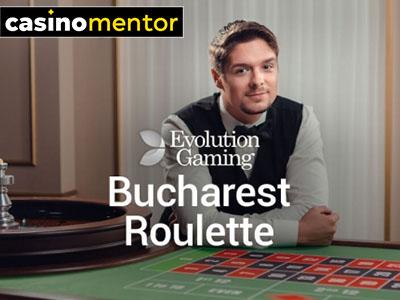 Bucharest Roulette (Evolution Gaming)