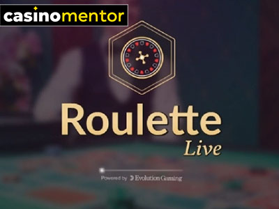 Roulette Live Casino (Evolution Gaming)