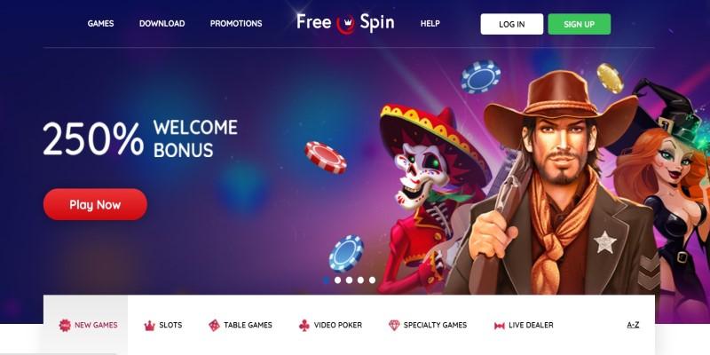 best american online free spin casino