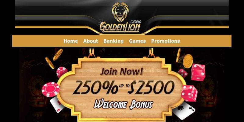 best american online golden lion casino
