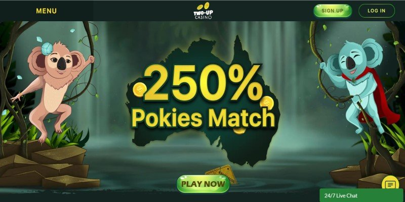 best american online two up casino