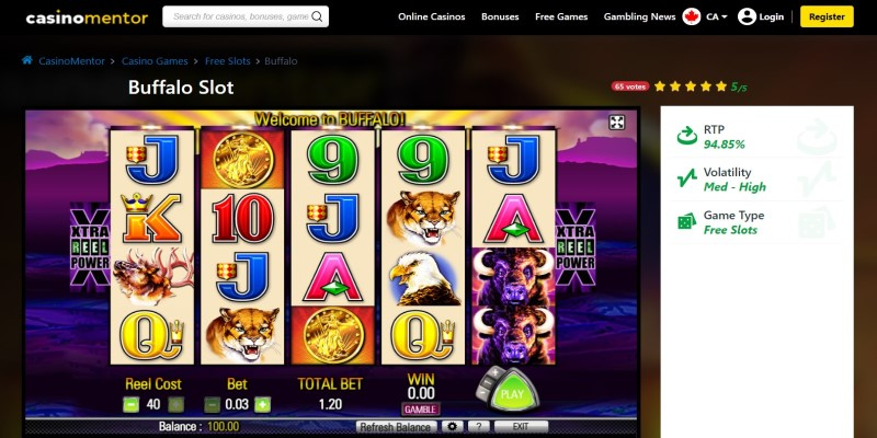 best slot machines to play in 2021 Buffalo