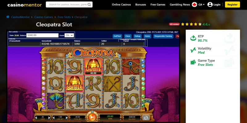 best slot machines to play in 2021 Cleopatra