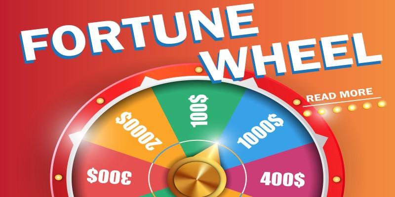 Free spin mega wheel
