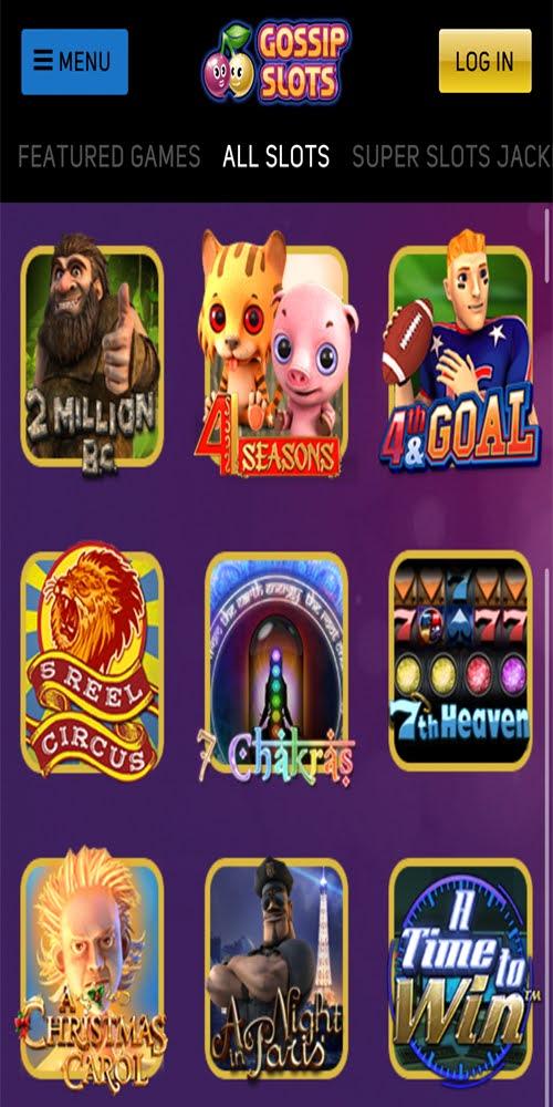 Gossip Slots Mobile