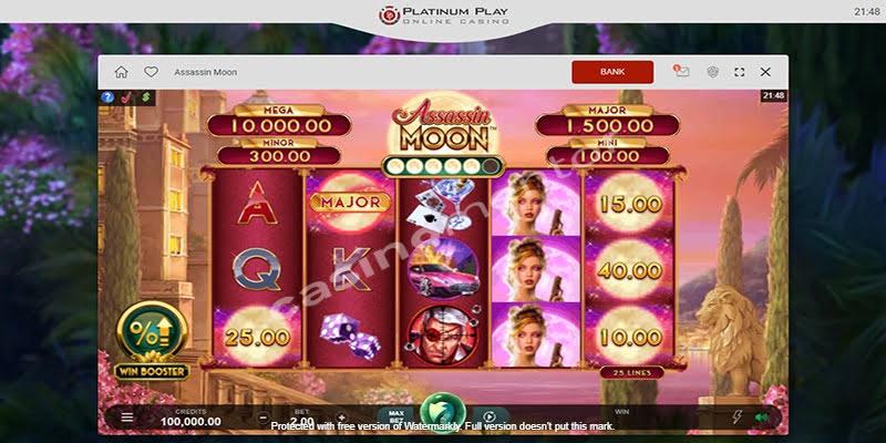 Platinum Play Casino Promotion Code